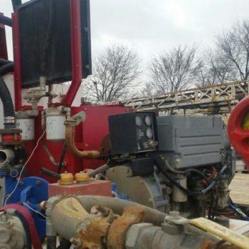 Mud Cleaning System w/3X4X13 Mud Pump