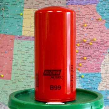 Baldwin B99 Oil Filter Heavy Duty, Spin-On; Ingersoll-Rand 52183233