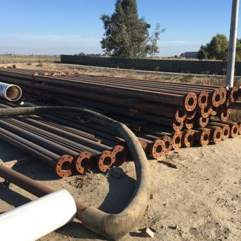 6 Inch ID Flange Drill Pipe, 1,000 Ft.