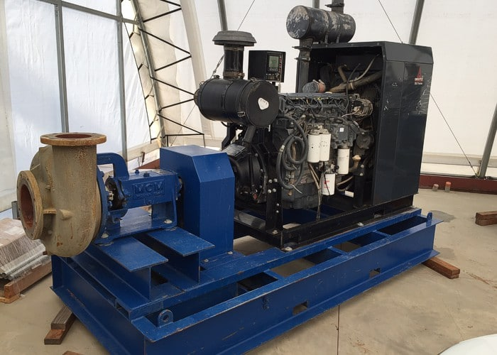 MCM-Deutz 250-255hp Booster Pump Skid 39826
