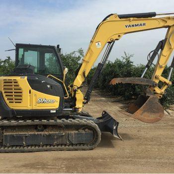 Yanmar SV100 Excavator