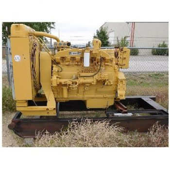 CAT 3406 Diesel Eng w/Radiator & Gauges