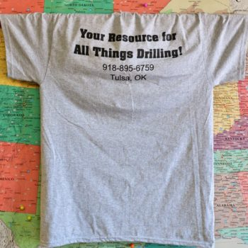 Drilling Equipment Resources T-Shirt in Heather Gray (Copy)