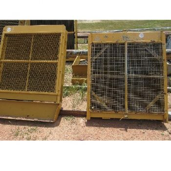 (2) CAT Radiators, (12″D x 4'2″W x 5'H), 1-skid, 1-no skid
