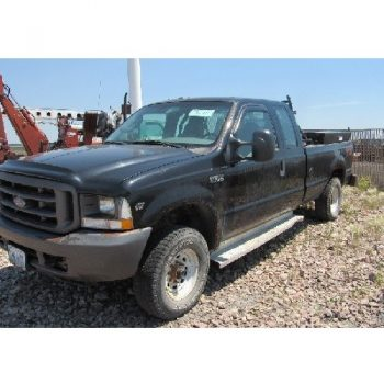 2004 FORD F-350X   Super Duty Extencled Cab Pickup, VIN- 1FTSX31S04EB74259, p/b triton v-10 eng, Headache Rack, Toolboxes, Custom Steel Bumper, LT265/75R16 Tires (black)""