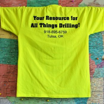 Drilling Equipment Resources T-Shirt Safety Yellow