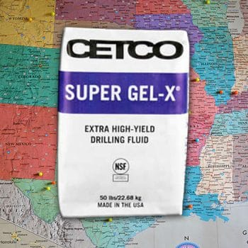 Super-Gel X 50 lb Bag CETCO