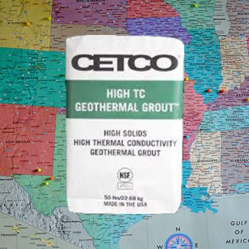 Cetco High TC Geothermal Grout